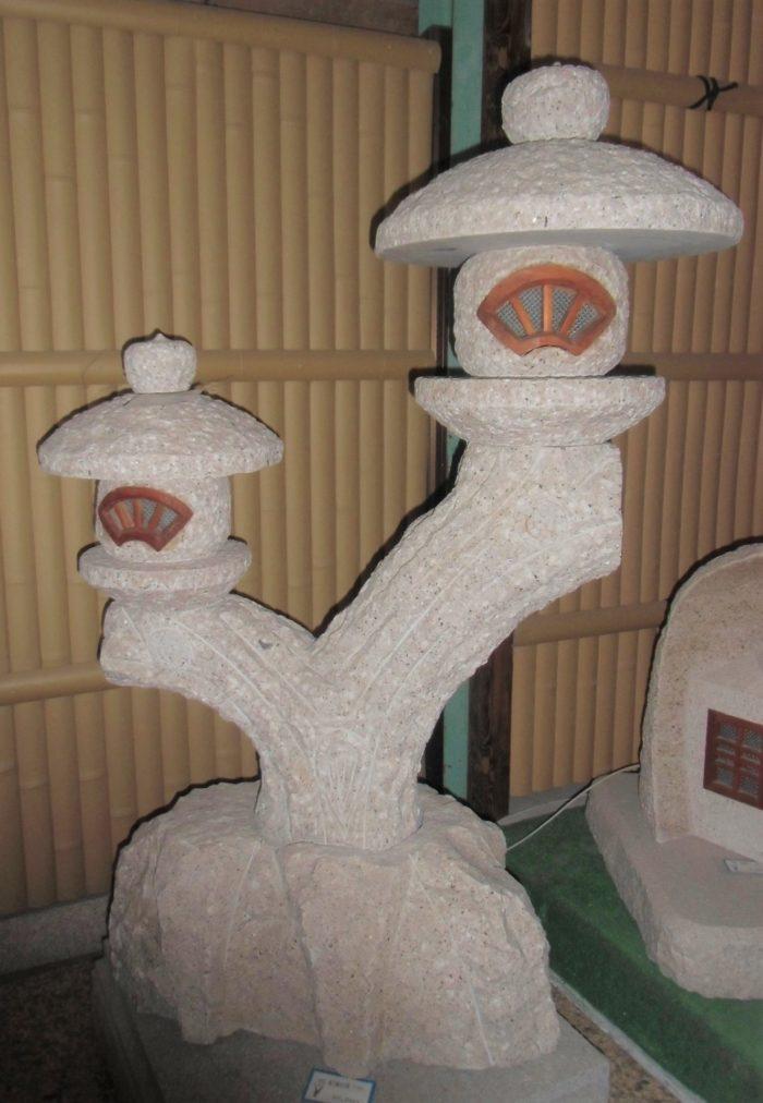 親子蘭渓灯籠